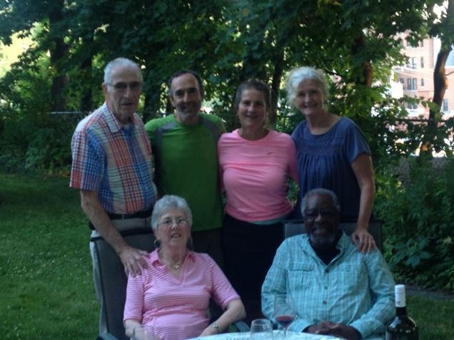 Bill, Aaron, me, Therea Eileen and Joe