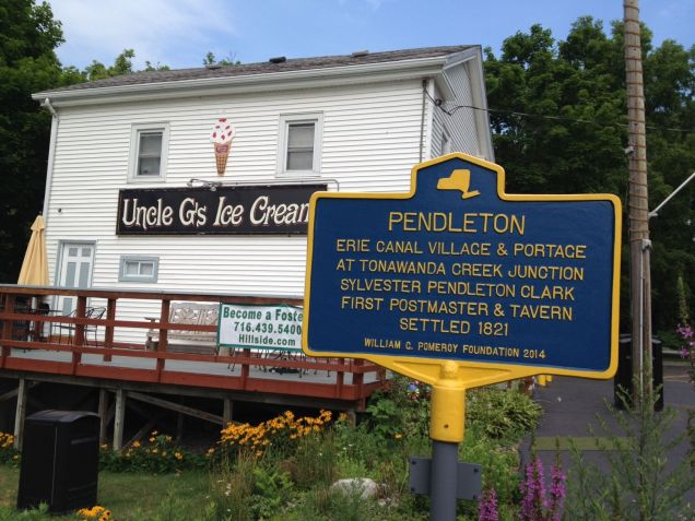 Uncle G's ice cream stand