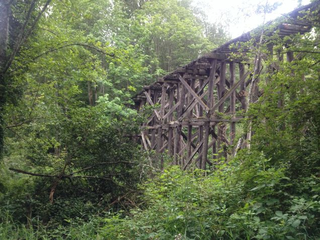 Train Trestle from long ago