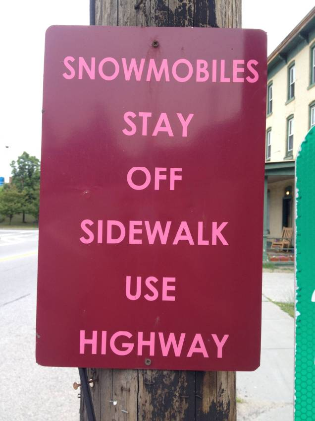 Sign in Fultonville, NY