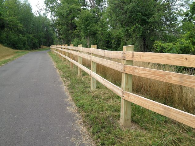 Erie Canal signature fence