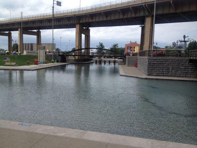 Canalside in Buffalo, NY