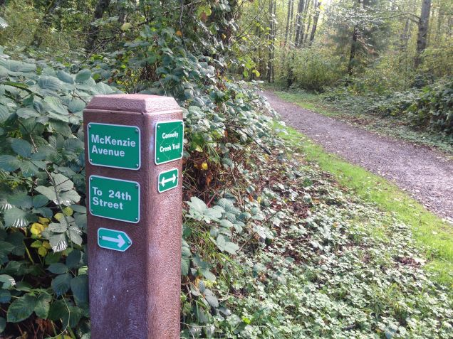 Trail Markers ~ Connelly Creek Trail