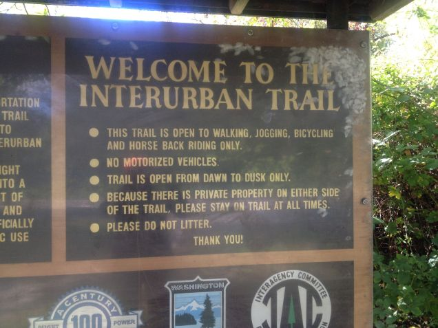 Interurban Trail History