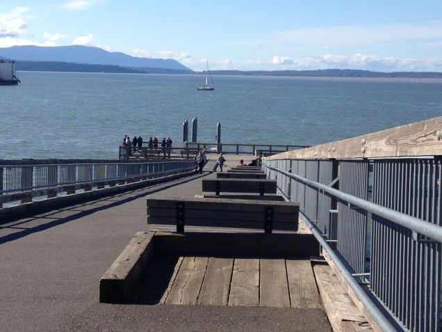 Bellingham Bay ~ South Bay Trail at Taylor Avenue