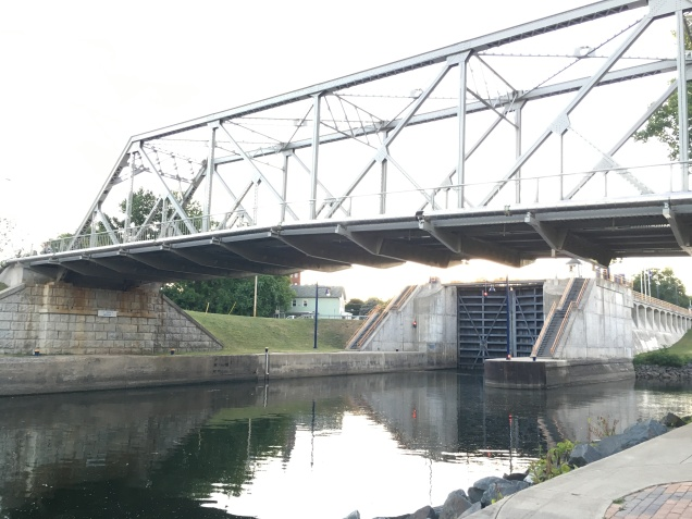 Lock #2 at Waterford, NY, the eastern terminus of the Erie Canal