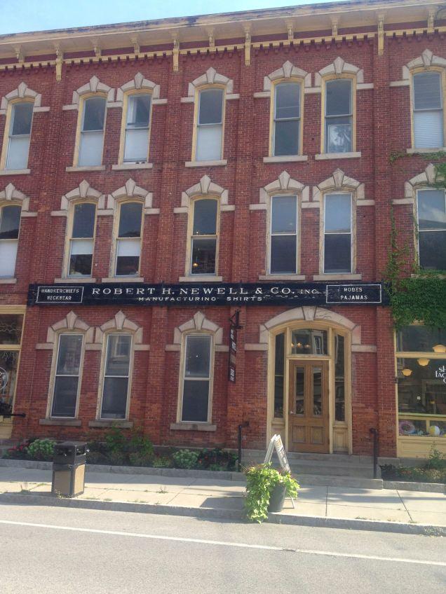 Robert H. Newell shirt factory building, now a boutique hotel