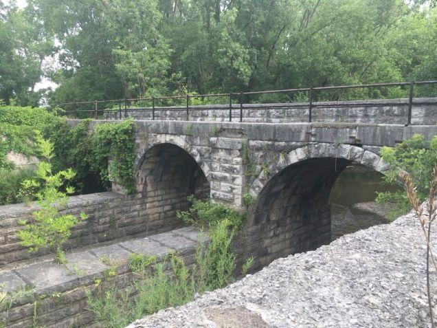Butternut Creek Aqueduct near Fayetteville, NY