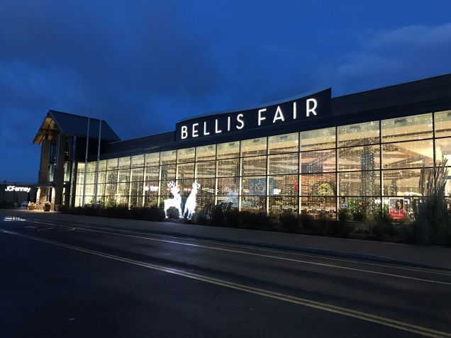 Early Morning at Bellis Fair Mall, Bellingham, WA