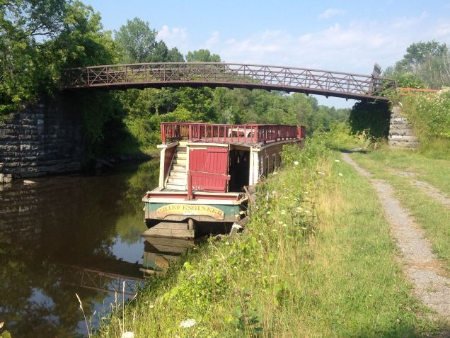 Packet Boat at Erie Canal Village, Rome, NY
